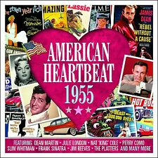 American Heartbeat 1955 VARIOUS ARTISTS Music BEST 50 TRACK COLLECTION New 2 CD