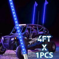 Safeglo LED Buggy Whip Quick Disconnect Standard 1//2-20 Thread