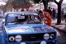 Attilio Bettega FIAT 131 Abarth Rally San Remo 1980 fotografia 2