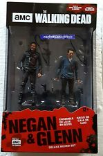 "THE WALKING DEAD TV SERIES NEGAN AND GLENN 5'"" ACTION FIGURE DELUXE BOX SET"