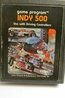 INDY 500  by Atari CX2611  - cartridge only FREE SHIPPING