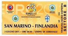 Ticket San Marino - Finland 03.06.2011