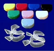 2X2 BRUXISM NIGHT TEETH GUARD GUM TRAY &  2 CONTAINERS **BUY 6 GET 4 FREE**