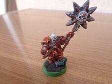 Warhammer 40K Chaos Space Marines Korne Icon Bearer Metal OOP Painted