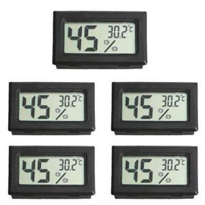 Digital LCD Indoor Temperature Humidity Meter Thermometer Fahrenheit Hygrometer