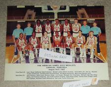 Michael Jordan 1983 Pan Am Olympic Games Pic Nba23 Chicago Bulls Basketball1984