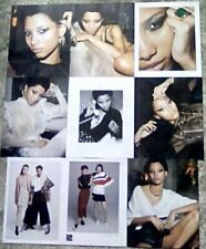 * Supermodel Lineisy Montero Clippings Pack 41 Pages Porter Saks Photoshoots + *
