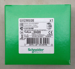 SCHNEIDER GV 690 V GV2ME08 MOTOR PROTECTION CIRCUIT BREAKER 3P