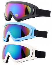 3 Pack Anti-fog UV Protection Ski Snowboard Snow Goggles for Men Woman Kids NEW