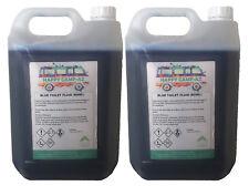 Blue Chemical Motorhome & Caravan Toilet Fluid Cleaner & Protector - 2 x 5L