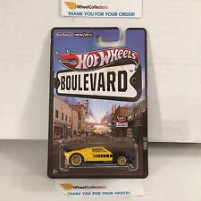 Ford GT * Yellow/Black * Boulevard Hot Wheels * W218