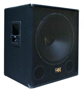 "E-Lektron SUB-P45 1000W DJ PA Subwoofer Bass-Lautsprecher Box 45cm/18"" passiv"