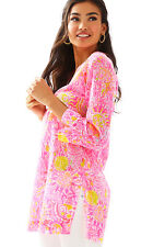 NWT Lilly Pulitzer Pink More Kinis in the Keys Marco Island Tunic, Sz XS, $118