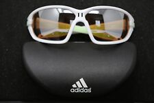Adidas Evil Eye Evo L Sport Sunglasses White Green