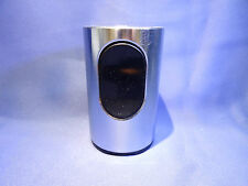 Braun TFG 2 Tischfeuerzeug von Dieter Rams ca. 1968 Cylindric in Steel  gasdicht