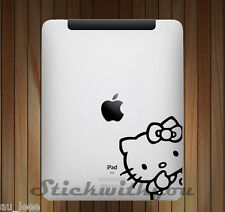 Hello Kitty DS1 - Apple iPad 1 2 3 4 Air Sticker Decal tablet  #IP002