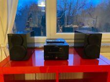 Yamaha CRX-332 CD-Kompaktanlage, 20 Watt RMS, CD, MP3, Docking-Anschluss, USB, I