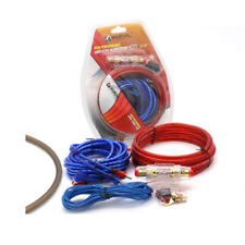 Car Amplifier Installation Kits Speaker Woofer Subwoofer Cables Audio 8Ga Wire