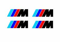 Bmw Bremssattel Aufkleber für BMW 4x M Logo in Schwarz Or weiss 6,5cmx2cm Brake.