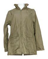 Magellan Women's Sz L Convertible Zip Front Jacket Beige