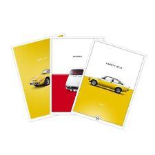 Original Opel  Poster Set Historic Manta Kadett GT/E Opel GT DIN-A1