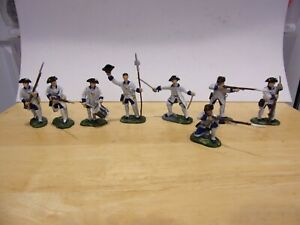 Armies in Plastic French and Indian War French  painted plastic 1/32 54mm