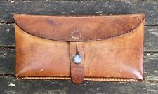1964 Swiss Army Ammunition Leather Pouch Vintage