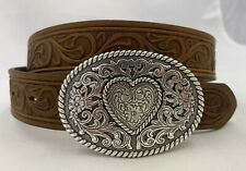 Justin New Trophy Western Belt Size 22 Made in Usa 815Bd