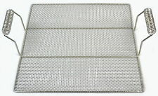 """Stainless Steel Wire Mesh Grid with Handles, 19"""" x 19"""" (1)"""