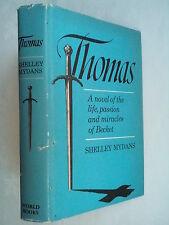 SHELLEY MYDANS.THOMAS.THOMAS BECKET.1ST B/C EDITION 1967.HELEN WADDELL LYRICS