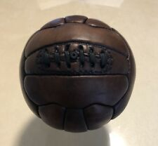 Vintage Mini Size 1 1900's Soccer Ball Full Leather Hand Made