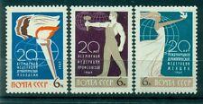 Russie - USSR 1965 - Michel n. 3111/13 - 20 ans d'organisations internationales