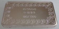 Lingote de plata nuevo, sin usar 40 Grms Finlandia Banco acuñada por John pellizcos Suomi