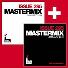 Mastermix Issue 295 Twin DJ CD Set inc Mixes Ft Black Eyed Peas & Pink Megamixes