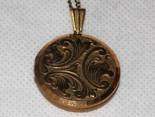 ROLLED GOLD LOCKET Not Hallmarked but states Rolled Gold