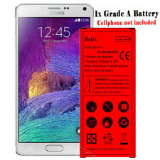 6990mAh High Power Extended Slim Battery For AT&T Samsung Galaxy Note 4 SM-N910A
