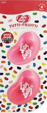 1 x Twin Pack 3D JELLY BELLY Vent DUO Bean Sweet Gel Air Freshener TUTTI FRUTTI
