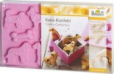 Birkmann Stampo in Silicone per 16 biscotti a forma di Cagnolini