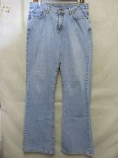 D4099 Lucky Brand 156 Peanut Pant Low Rise Flare Killer Fade Jeans Women 32x32
