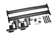 2007-2009 GMC Acadia GM Black Roof Cross Bar Rail Kit Hardware Included 12499868