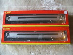 Two  Hornby  Virgin Pendolino Coaches R4272 R4272A  OO Gauge