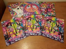 2014 Lisa Frank 3 Holed Folders Lot