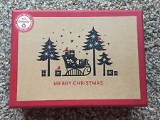 16 Papyrus Cards Eco Friendly Simple Design Merry Christmas Trees Sleigh