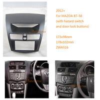 2 Din Car Radio fascia Facia Panel Adapter Audio frame for MAZDA BT-50 2012+