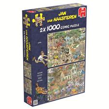 Jumbo 19001 Jan van Haasteren Der Sturm & Die Safari 2x1000 Teile Puzzle