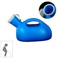 2000ML Tragbar Urinflasche Urinal Urin-Ente Männer mit Deckel Reise Camping Soft