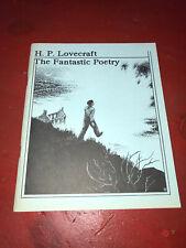 H.P. Lovecraft The Fantastic Poetry Necronomicon Press 1990