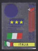 Panini - USA 94 World Cup - # 306 Italia Foil Badge (Black Back)