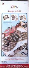 Sizzix Shape BigZ Die 3-D Heart Card XL Karen Burniston 656026