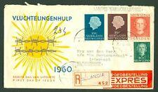 NEDERLANDS NIEUW GUINEA Aangetekend/ Expresse brief naar Vlissingen